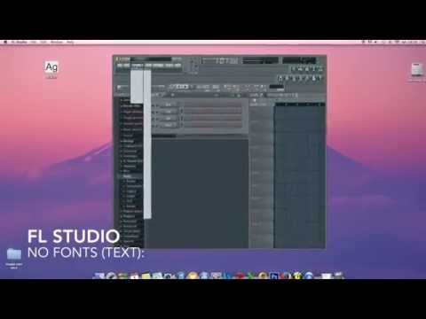 Fl Studio Font/text Fix (Mac & Win)