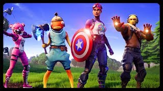 HOW TO GET ALL AVENGERS ABILITIES AT ONE TIME! (Fortnite Season 8)