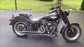 Fatboy S With Vance and Hines Big Shots