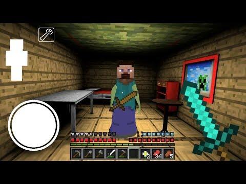 ДОБАВЛЕН НОВЫЙ РЕЖИМ МАЙНКРАФТ В ГРЕННИ - Playing Minecraft In Granny