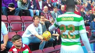 Hearts v Celtic 6 th May 2018 Harry Potter Makes a Appearance in The Hearts End
