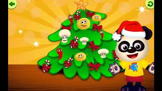 Learn names | kids videos | kids games | christmas tree and song