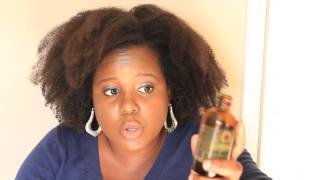 Jamaican Black Castor Oil || Natural Hair #5 - Lwil Maskriti
