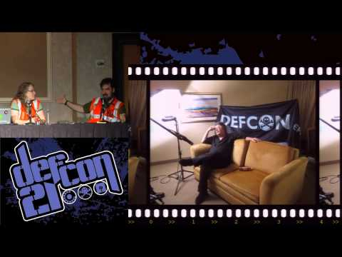 DEF CON 21 - Jason Scott and Rachel Lovinger - Making Of The DEF CON Documentary