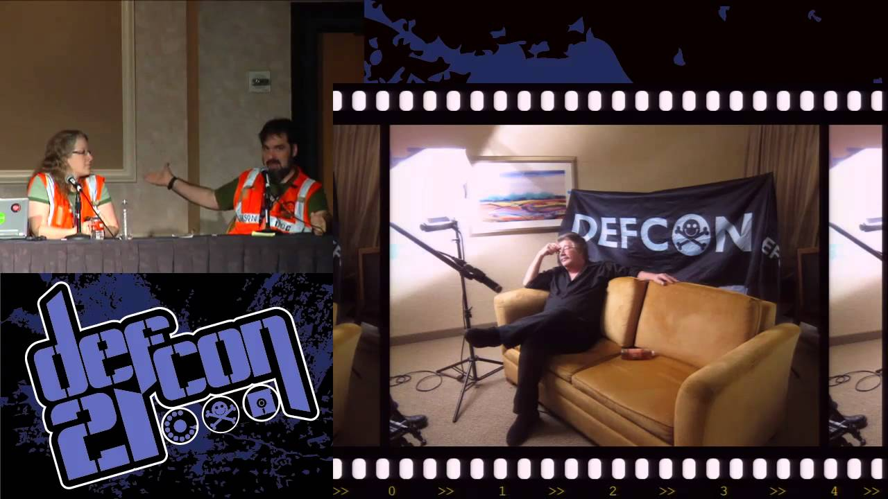 Def Con 21 Jason Scott And Rachel Lovinger Making Of The Doentary You