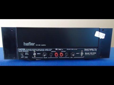 Hafler DH-200 Power Amplifier