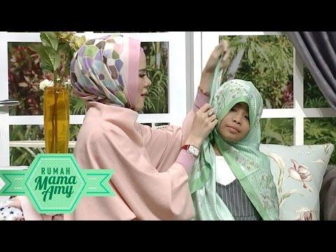 Tutorial Hijab Angel Lelga Untuk Alifa - Rumah Mama Amy (21/6)