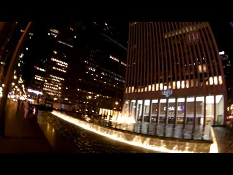 Шөнийн New York - Rockefeller Center, Time Square