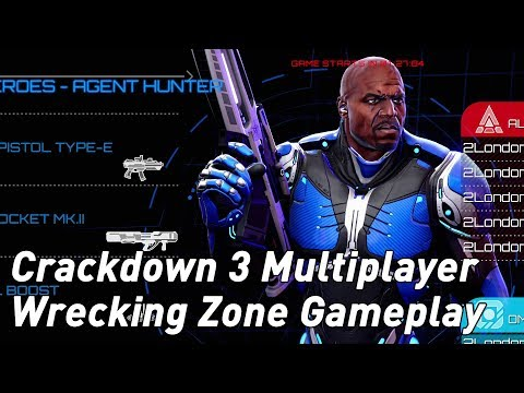 Crackdown 3 Wrecking Zone gameplay: the cloud destruction tech in action