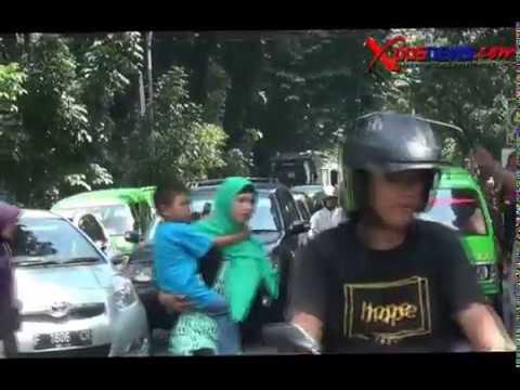 Akibat SSA, Supir Angkot 06 Sweeping Sesama Angkutan Kota