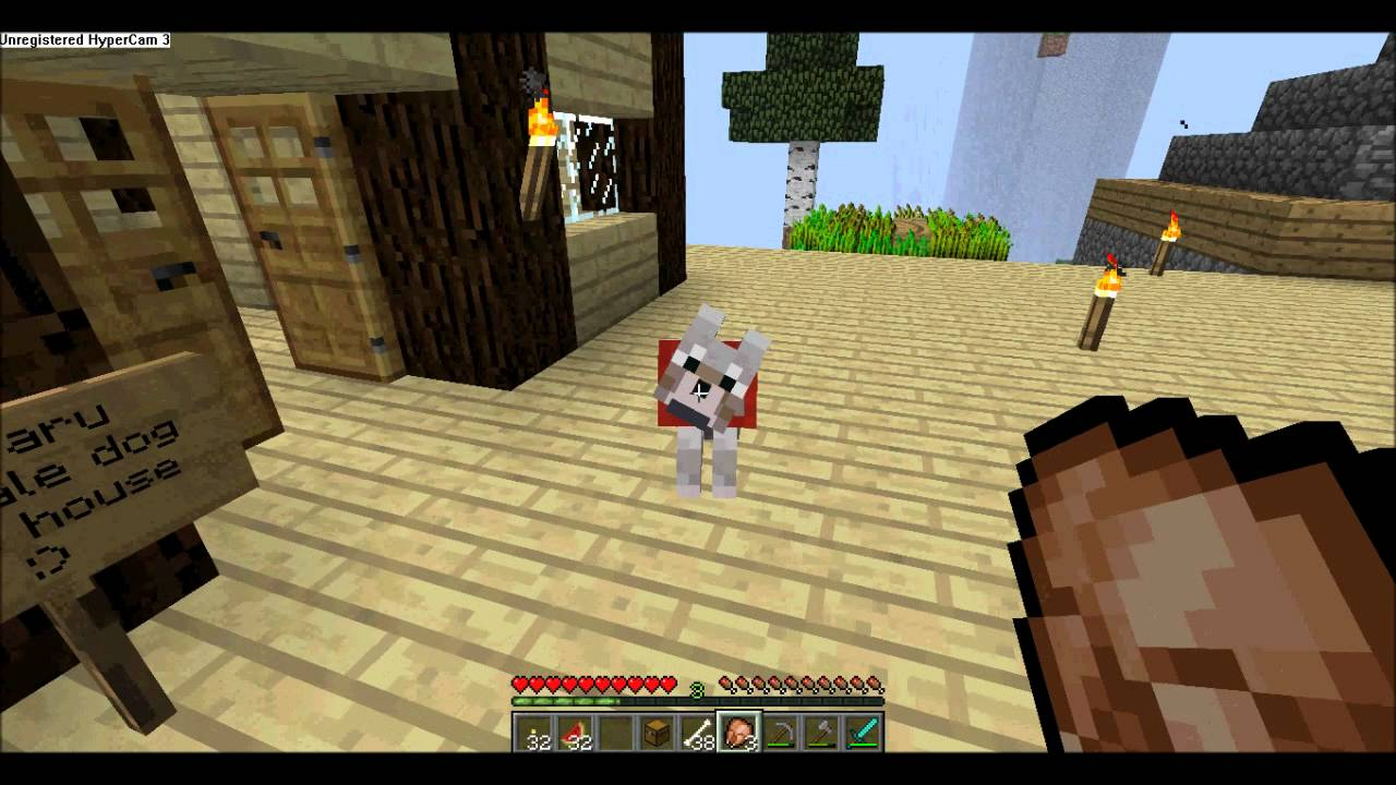собачьи таланты вики майнкрафт #2