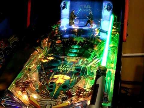 Star Wars Pinball Machine >> Star Wars Episode One Pinball - YouTube