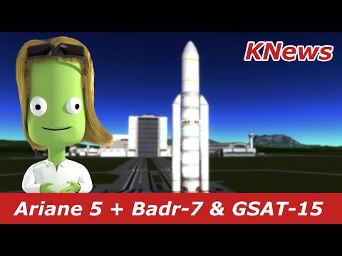 ariane-5-launch- -badr-7-&-gsat-15- -knews-#23