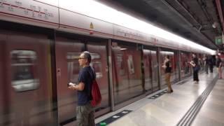 【*倒車打個突】港鐵 TWL M-Train (A277/A264) 反方向/倒車駛入及駛離茘景站 (不載客)