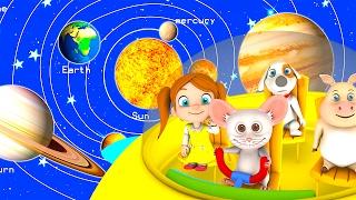 The Solar System Song Kindergarten Nursery Rhymes Songs For Kids