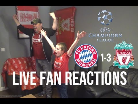 Bayern Munich 1-3 Liverpool , Champions League LIVE FAN REACTIONS! March 13th 2019
