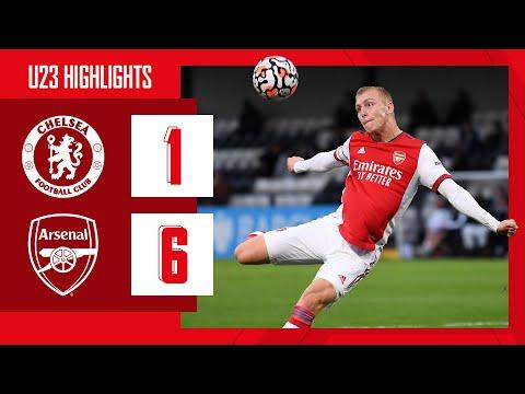 HIGHLIGHTS | Chelsea vs Arsenal (1-6) | U23 | Biereth (3), Balogun (2), Salah Oulad M'Hand