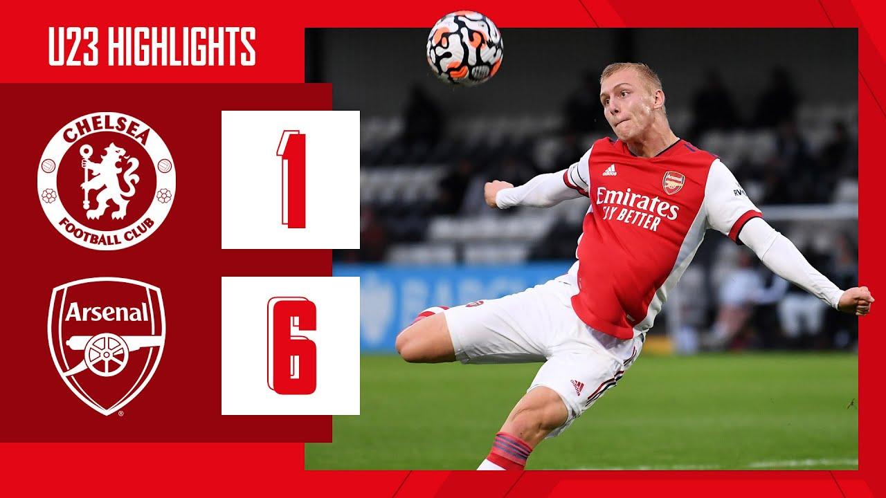 Download HIGHLIGHTS | Chelsea vs Arsenal (1-6) | U23 | Biereth (3), Balogun (2), Salah Oulad M'Hand