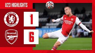 HIGHLIGHTS | Chelsea vṡ Arsenal (1-6) | U23 | Biereth (3), Balogun (2), Salah Oulad M'Hand