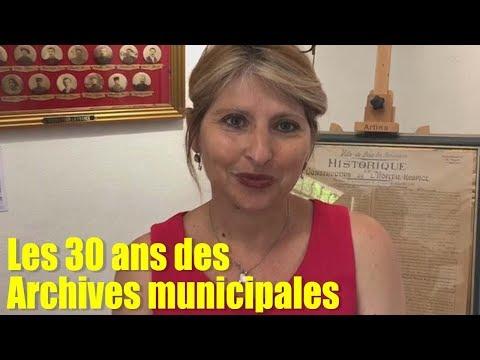 Les 30ans des archives municipales de Buis les Baronnies