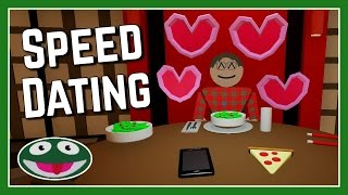 Speed Dating Simulator - Let's Play Settle And Score Love Encore - Gameplay