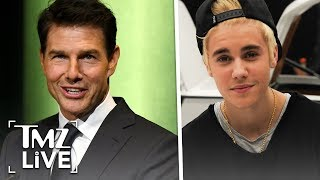 Justin Bieber Agrees to UFC Fight With Tom Cruise | TMZ Live