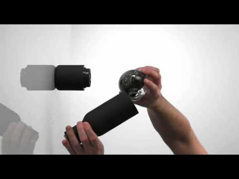 MENU Bottle Grinder Set Pfeffermühle Salzmühle matt Ausstellungsstück 4418119