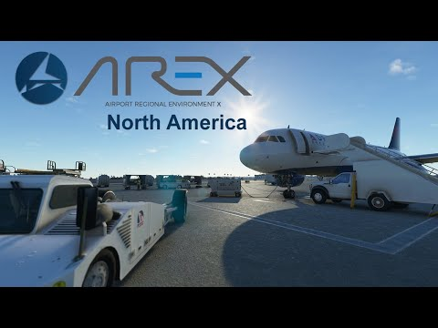 LVFR AREX North America for MSFS