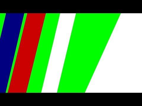 Green Screen Epic Line Slide Effect