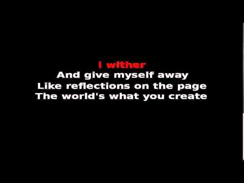 Wither - Dream theater [Karaoke]