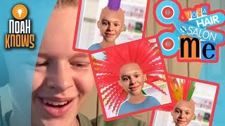 GETTING A NEW HAIRSTYLE!!!! - Toca Hair Salon Me