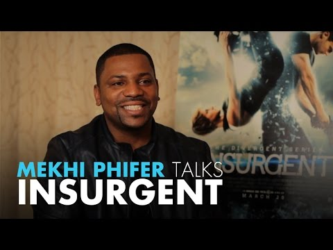 Mekhi Phifer Talks Insurgent, 8 Mile, & Kissing Beyonce