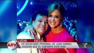 """Juan Gabriel le envía mensaje a María Celeste""""me dijo que quería reaparecer, Juan Gabriel ¿vive?"""