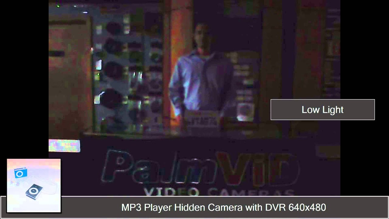 MP3 Player Hidden Spy Camera with Built-in DVR 720x480