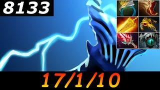 Dota 2 Razor 8133 MMR 17/1/10 (Kills/Deaths/Assists) Ranked Full Gameplay