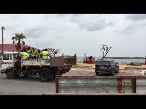 Marigot St Martin completely destroyed after Hurricane Irma