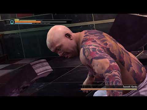 Yakuza 3 Remastered Kiryu vs Tsuyoshi Kanda Boss fight(HARD) max settings ultra full HD 60fps |