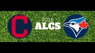 MLB ALCS 2016 10 14 Toronto Blue Jays@Cleveland Indians Game1 720P