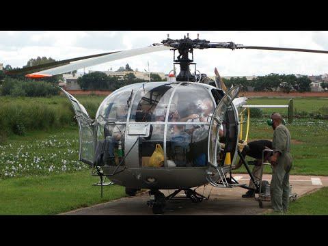 CAMUSAT MADAGASCAR. Hélicoptère Coup de foudre. (P.P.2011)