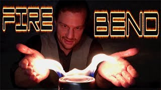 HOW TO FIRE BEND like an Avatar | Using ELECTRICITY |