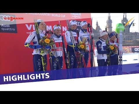 Big day for Sweden in Ladies' City Team Sprint in Dresden | Highlights