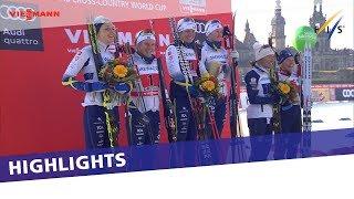 Video Big day for Sweden in Ladies' City Team Sprint in Dresden | Highlights download MP3, 3GP, MP4, WEBM, AVI, FLV Januari 2018