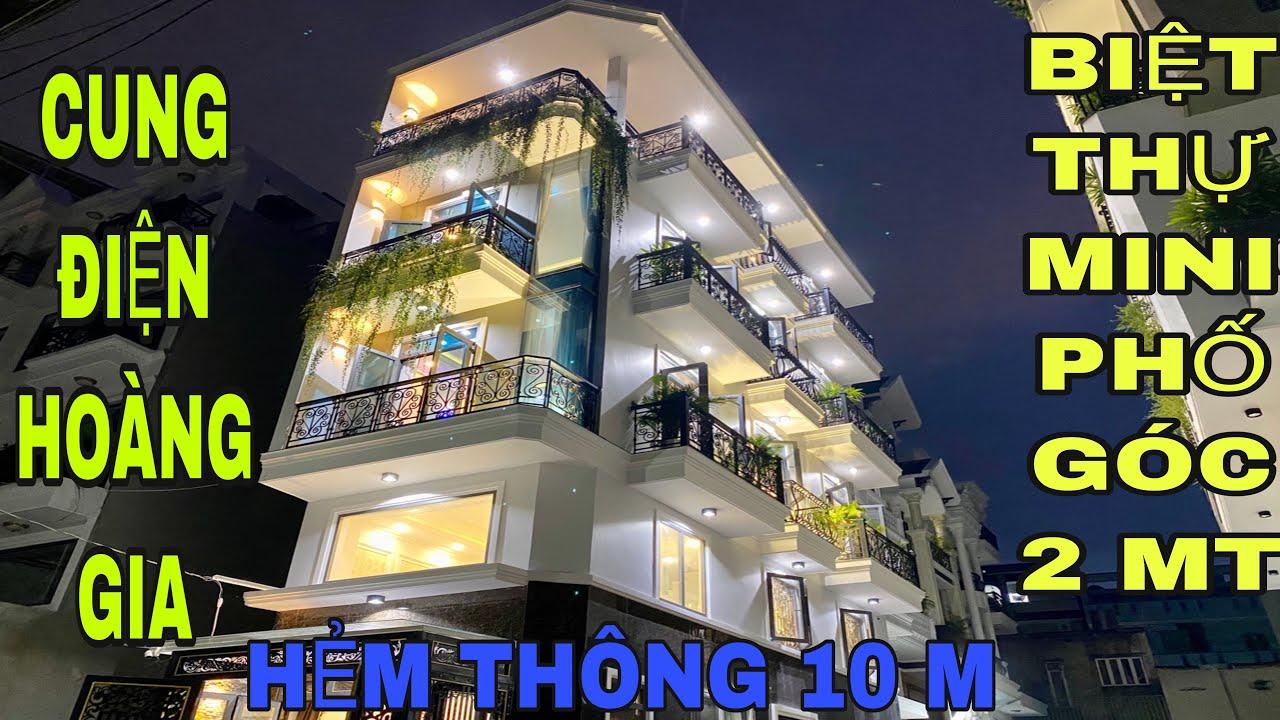 Bán nhà Gò Vấp (272) biệt thự mini phố góc 2 mặt tiền cực kỳ thông thoáng và mát mẻ đang bán gấp