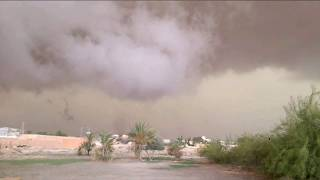 احوال الطقس في قفصة قبل العاصفة #تونس اليوم