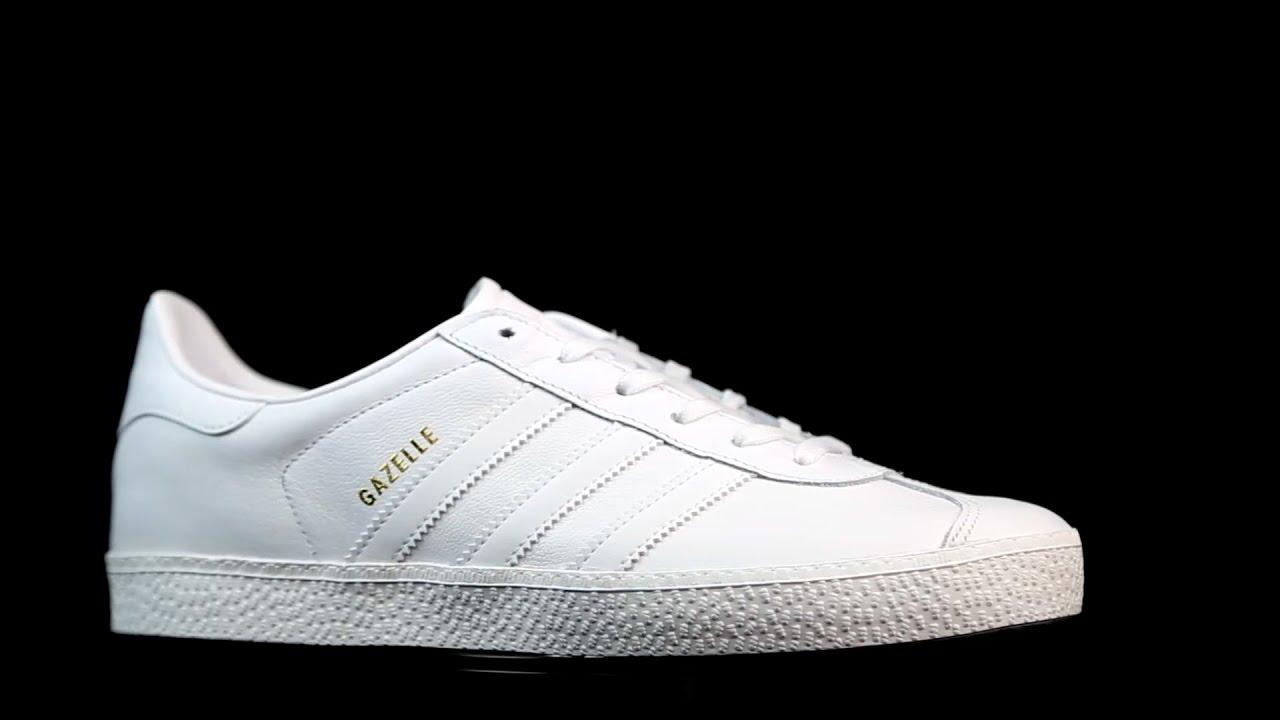 super popular 52954 f6080 Adidas Originals Gazelle Total White.