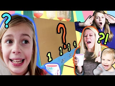 Don't Choose The Wrong Mystery Drink Challenge | Mystery Box Drink Machine!