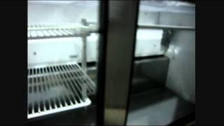 """True Commercial 2 Door Sandwich Salad Pizza 60"""" Prep Table"""