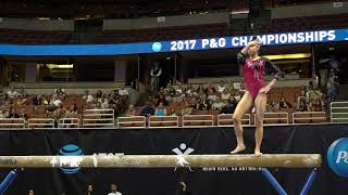 Kayla Di Cello - Balance Beam - 2017 P&G Championships - Junior Women - Day 2