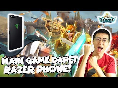 ASEKK! Main Game Dapat Razer Phone! - Lords Mobile Indonesia