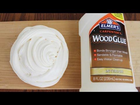 DIY Wood Slime! Make Slime with NO Activator (Borax, Liquid Starch, Detergent, etc)